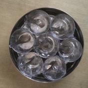 Indian Spice Tin Box Masala Dabba - Spices Box Storage - High Quality - 22.5 cm