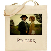Official Poldark Reusable Eco Friendly Shopping Bag - Ross & Demelza
