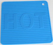 New Blue Silicone Trivets HOT