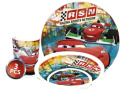 Disney Cars Child's crockery set with plate, cereal bowl and cup made of melamine