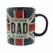 Dad Gift - Union Jack Mug Vintage Style