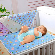 Butterme Newborn Baby and Toddler Soft Washable Reusable nappy Mat Cotton Waterproof changing mat