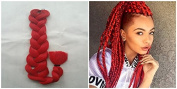 90cm 165g X-pression Braiding Hair, Ultra Braid, Synthetic Braiding, Hair Bulk Hair for Braiding, Hair Extension for African American Women, 1pc (4)