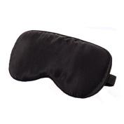 Silk Sleeping Eye Mask Sleep Mask Eye-shade Aid-sleeping,Black