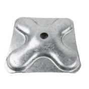 Accessory truss spigot of 50x3 mm square base 140x140mm - Cablematic