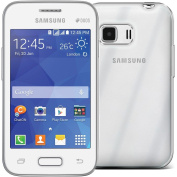Clear Gel Skin Cover Case (Flexible and Durable) for the for Samsung Galaxy Young 2 by Digi Pig