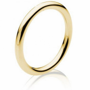 18K Gold Traditional Classic Women's Wedding Band