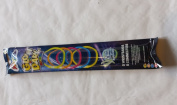 15 GLOW IN THE DARK GLO GLOW STICK BRACELETS PARTY RAVE BRIGHT LIGHT UP FUN