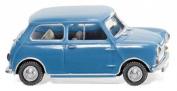 Morris Mini-Minor - blue - Model Car, Ready-made - Wiking 1:87
