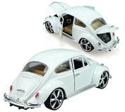 Berry President® 1:18 White Classic Car Model Beatles Alloy Car Model Children's Toy