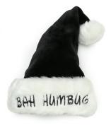 "Christmas ""Bah Humbug"" Plush Santa Hat"