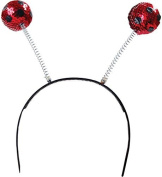 Fancy Party Accessory Alien Bug Bee Antennas Headband Sequin Ladybird Boppers