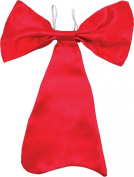 Unisex Fancy Dress Party Dr.seuss Elope Cat In The Hat Satin Dickie Bow Tie Red