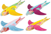 48 x Fairy Poly Glider Flying Toy Kit Childrens Party Bag Favours
