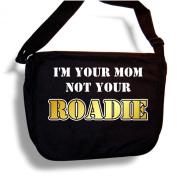Music Notation Mom Not Roadie - Sheet Music Accessory Bag MusicaliTee