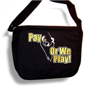 Music Notation Pay Or We Play - Sheet Music Accessory Bag MusicaliTee