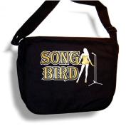 Vocalist Song Bird - Sheet Music Accessory Bag MusicaliTee