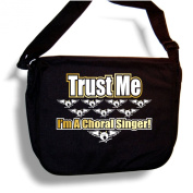 Vocalist Trust Me Choral Singer - Sheet Music Accessory Bag MusicaliTee