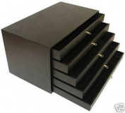 5 Tray Storage Case Gemstones Jewellery Display Box Beads