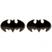 Batman Gun Metal Bat Cufflinks