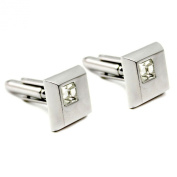 High Quality Men's Jewellery Square Shape Cufflink For Engagement Party Wedding
