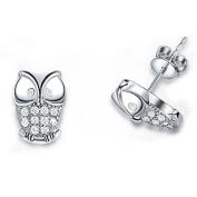 JaneDream 1 Pair Lovely animal owl earrings Ear Stud for lady girl