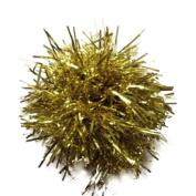 Christmas Festive Gold Tinsel Hair Scrunchie Bobble Elastic Hair Band