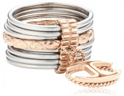 Just Cavalli Ladies'Ring Stainless Steel Crystal Infinity SCHX17018 pink