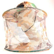 Mosquito hat camouflage Mosquito net Head protection Mosquito veil Angler's hat