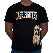 Dirty Ray Martial Arts MMA Cage Fighter men's short sleeve T-Shirt K63