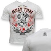 Dirty Ray Martial Arts MMA Muay Thai men's short sleeve T-Shirt K9