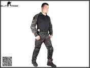 Men Military Hunting Paintball BDU Uniform Combat Gen2 Tactical Duty Cype Style Uniform MultiCam Black