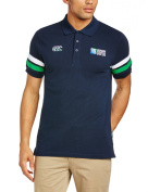 Canterbury Men's Rugby World Cup Half Back Polo