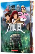 The Amulet Graphic Novels Books Set by Kazu Kibuishi