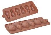 Silicone Easy Choc Chocolate/Sugar Mice Mould