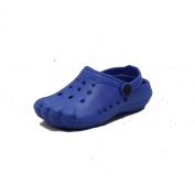 Childrens Rubber beach shoes / clog style shoes with toe imprints