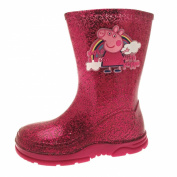 Peppa Pig Rainbow Pink Welly