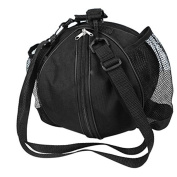 BXT New Fashion Round Shape Shoulder Sports GYM Baseball Bag Football ValleyBall Storage Handbag Cross-body Messenger Bag Side With Water Pouch Exclusive for Men