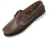 Mens Deck Boat Moccasin Leather Shoes by DEK