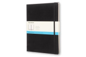 Moleskine Classic Notebook, Extra Large, Dotted, Black, Hard Cover