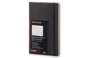 Moleskine 2017 Weekly Planner, Horizontal, 12m, Large, Black, Hard Cover