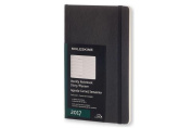 Moleskine Weekly Notebook, 12m, Large, Black, Soft Cover