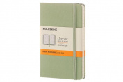 Moleskine Classic Notebook, Pocket, Ruled, Willow Green, Hard Cover