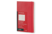 Moleskine 2017 Weekly Notebook, 12m, Large, Scarlet Red, Soft Cover