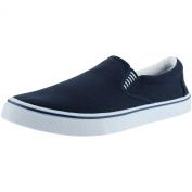 DEK Canvas Slip On Mens Shoes Navy Blue