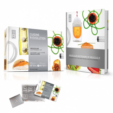 Molecule r evolution cuisine kit plus molecular gastronomy book with 40 recipes introductory - Cuisine r evolution recipes ...