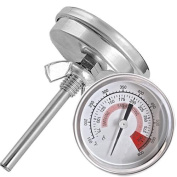 Ecloud Shop Barbecue Pit Smoker Grill Thermometer Temperature Gauge
