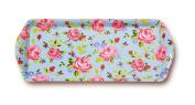 Cooksmart Vintage Floral Design Small Melamine Tray