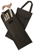 Black Carry Pouch for a Folding Stick with Handle