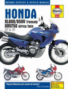 Honda Xl600/650v Transalp & Xrv750 Africa Twin '87 to '07